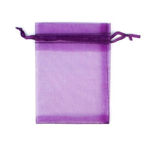 Darilna vrečka iz tila - vijola 1
