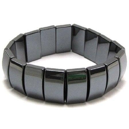 magnetna zapestnica hematit kvadratna 328 2 1