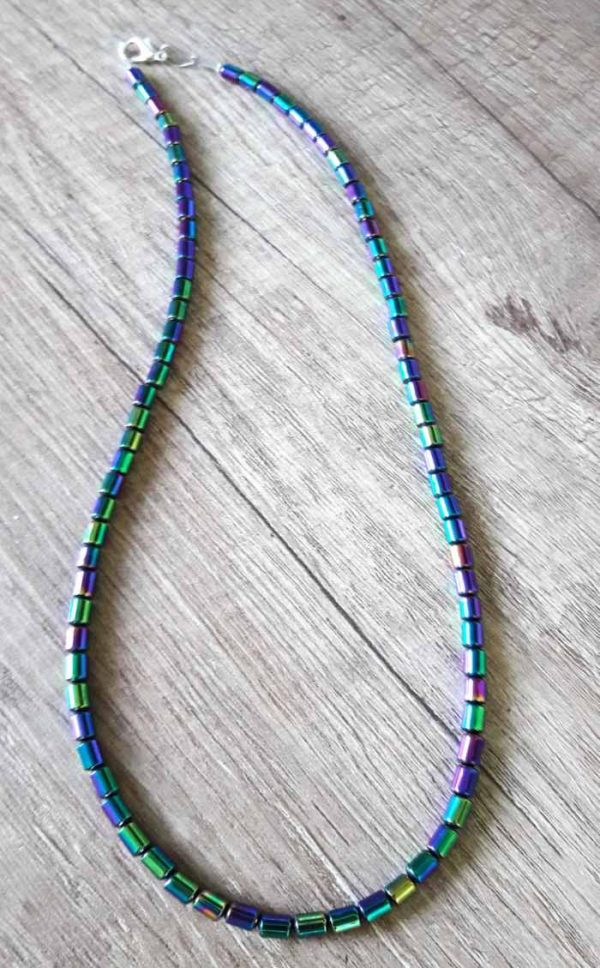 ogrlica mavrični hematit 3163 1