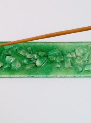 podstavek za dišečo palčko zelen 1 3002 1 1