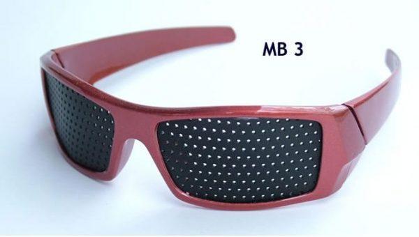Raster očala (rastrska očala oz. očala z luknjicami), model MB3 1