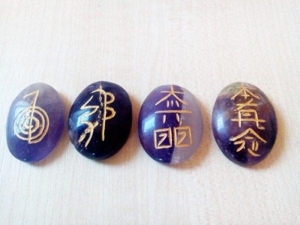 Reiki simboli na ametistu 1