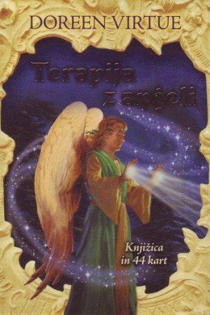 terapija z angeli knjižica in karte 1313 1