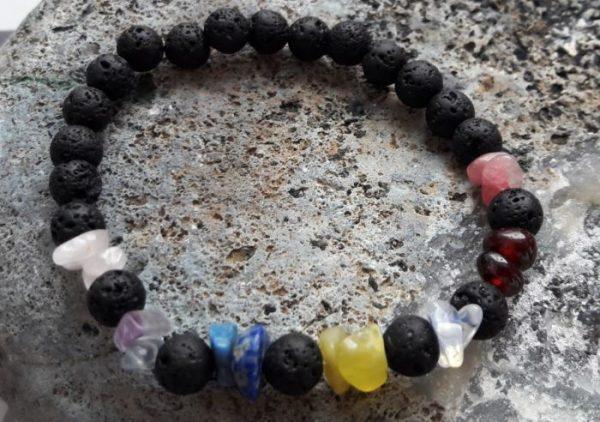 Zapestnica lava in sedem kristalov za sedem čaker 1