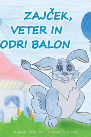 Zajcek veter in modri balon
