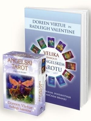angelski tarot in knjiga