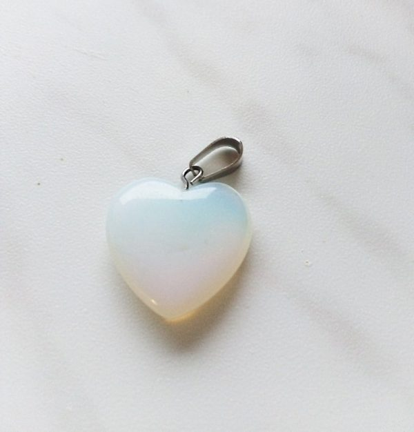 Obesek srček Opal 1