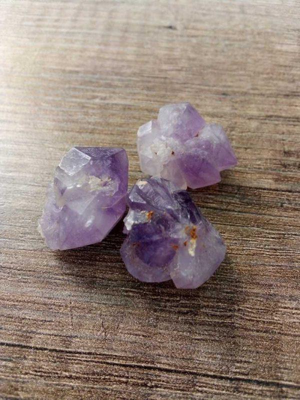 Herkimer diamant Ametist 1
