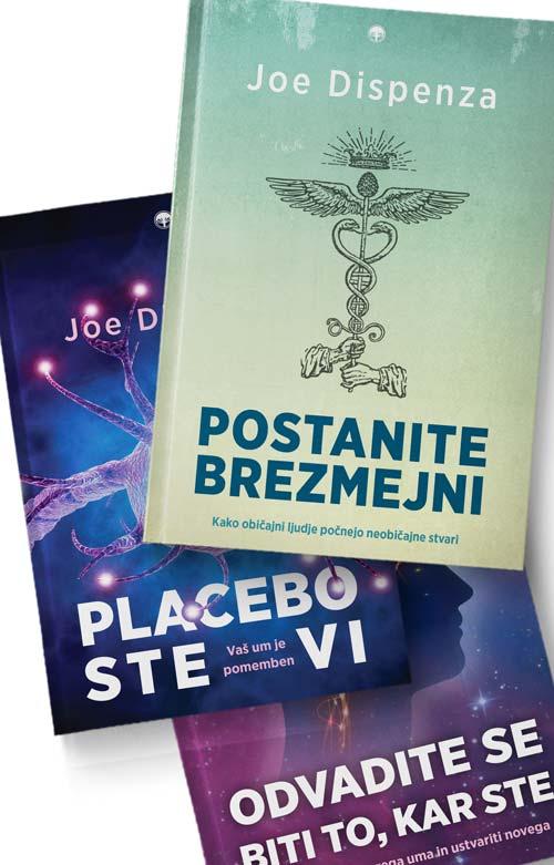 Komplet - Joe Dispenza: 3 knjige 1