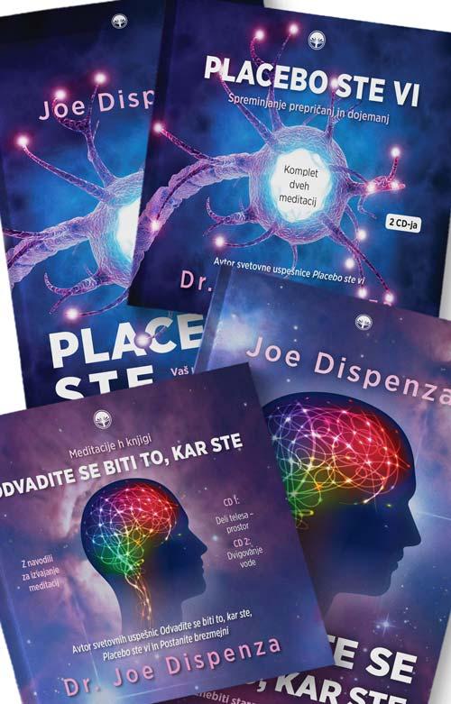 Komplet Joe Dispenza: 2 knjigi in 4 CDji 1