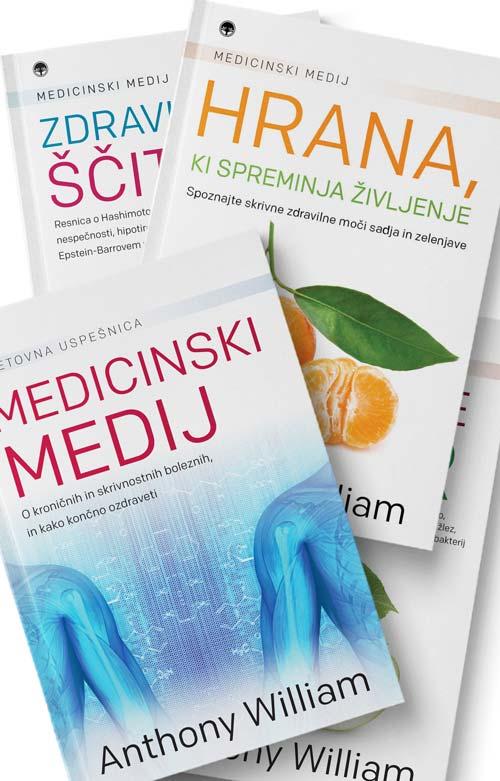 Komplet knjig Medicinski medij 1